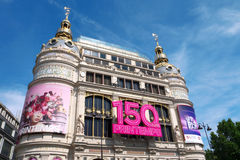 150th Anniversary Printemps Royalty Free Stock Photos