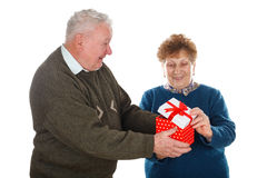 50th anniversary together Royalty Free Stock Images