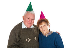 50th anniversary together Stock Photos