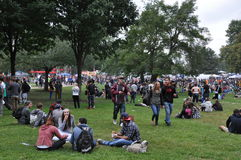 The 25th annual Boston Freedom Rally in 2014 Royalty Free Stock Photography