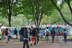 The 25th annual Boston Freedom Rally in 2014 Royalty Free Stock Images