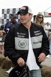 5th Annual Celebrity Cadillac Super Bowl Grand Prix. Nick Lachey participates in the 5th annual celebrity Cadillac Super Bowl Grand Prix at the American Airlines stock photography