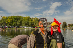 5th Annual Ginormous Pumpkin Regatta 2015 Royalty Free Stock Image