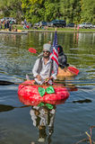 5th Annual Ginormous Pumpkin Regatta 2015 Royalty Free Stock Images