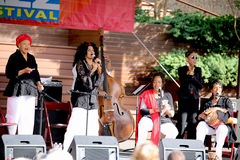 15th Annual Jazz Festival Healdsburg California Stock Image