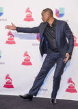 The 16th Annual Latin GRAMMY Awards. LAS VEGAS , NOV 19 : Actor Will Smith pose in the press room during the 16th Annual Latin GRAMMY Awards on November 19 2015 Stock Image