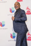 The 16th Annual Latin GRAMMY Awards. LAS VEGAS , NOV 19 : Actor Will Smith pose in the press room during the 16th Annual Latin GRAMMY Awards on November 19 2015 Royalty Free Stock Photography