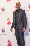 The 16th Annual Latin GRAMMY Awards. LAS VEGAS , NOV 19 : Actor Will Smith pose in the press room during the 16th Annual Latin GRAMMY Awards on November 19 2015 Royalty Free Stock Photos