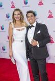 The 16th Annual Latin GRAMMY Awards. LAS VEGAS , NOV 19 : Carolina De Moras (L) and Rafael Araneda attends the 16th Annual Latin GRAMMY Awards on November 19 Royalty Free Stock Images