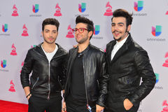 The 16th Annual Latin GRAMMY Awards. LAS VEGAS , NOV 19 : Gianluca Ginoble, Piero Barone and Ignazio Boschetto of musical group Il Volo attend the 16th Annual Royalty Free Stock Photos