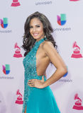 The 16th Annual Latin GRAMMY Awards. LAS VEGAS , NOV 19 : Miss New York USA Thatiana Diaz attends the 16th Annual Latin GRAMMY Awards on November 19 2015 at the Royalty Free Stock Photo