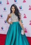 The 16th Annual Latin GRAMMY Awards. LAS VEGAS , NOV 19 : Miss New York USA Thatiana Diaz attends the 16th Annual Latin GRAMMY Awards on November 19 2015 at the Royalty Free Stock Photos