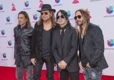 The 16th Annual Latin GRAMMY Awards. LAS VEGAS , NOV 19 : Music group Mana attends the 16th Annual Latin GRAMMY Awards on November 19 2015 at the MGM Grand Arena Royalty Free Stock Image