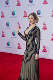 The 16th Annual Latin GRAMMY Awards. LAS VEGAS , NOV 19 : Singer/actress Tatiana Liary attends the 16th Annual Latin GRAMMY Awards on November 19 2015 at the MGM Royalty Free Stock Images