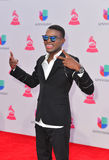 The 16th Annual Latin GRAMMY Awards. LAS VEGAS , NOV 19 : Singer OMI attends the 16th Annual Latin GRAMMY Awards on November 19 2015 at the MGM Grand Arena in Royalty Free Stock Photography