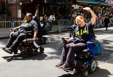 13th Annual New York City Dance Parade and Festival 2019 royalty free stock image
