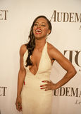 68th Annual Tony Awards. Actress Krystal Joy Brown arrives on the red carpet at the 68th Annual Tony Awards at Radio City Music Hall in New York City. Brown royalty free stock image