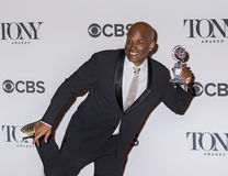 68th Annual Tony Awards. Director Kenny Leon is in high spirits at the 68th Annual Tony Awards held at the Radio City Music Hall in New York City on June 8, 2014 Royalty Free Stock Images