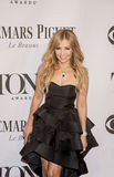 68th Annual Tony Awards. Thalia, Mexican singer/musician/entertainer,  arrives on the red carpet of the 68th Annual Tony Awards at Radio City Music Hall in New Royalty Free Stock Images
