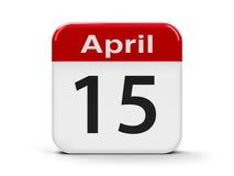 15th April Arkivfoton