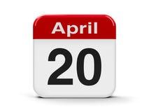 20th April Arkivbilder