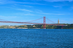 25th april bridge Royalty Free Stock Image