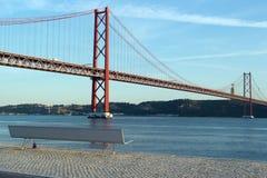25th April Bridge, Lisbon, Portugal Stock Photo