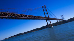 25th of April Bridge Stock Photography