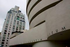 20th arkitektoniskt som blev landmarks lloyd lokaliserade manhattan som för symbol för utgångspunkt för guggenheim för öppenhjärt Arkivbild