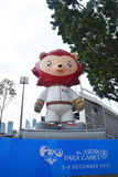 8th ASEAN PARA GAMES 2015 Mascot Stock Photos