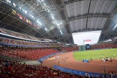 8th ASEAN Paralympic Para spelar stadion Arkivbild