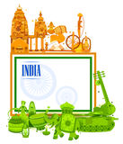15th August Independence of India tricolor background. In vector Stock Images