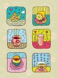 Thé avec le citron Image stock