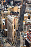 5th avenue and the Flat Iron building Stock Photos