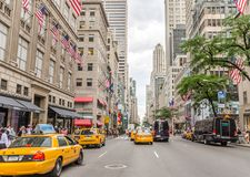 5th avenue Royalty Free Stock Photography