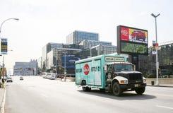 11th aveny i Manhattan Fotografering för Bildbyråer