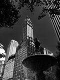 5th aveny i newyorkspringbrunn Royaltyfri Foto