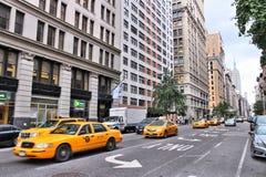 5th Aveny New York Arkivfoto