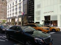 5th aveny, New York City, NYC, NY, USA Royaltyfria Bilder