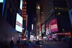 7th aveny New York, NY Arkivbilder