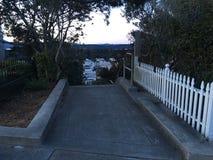 15Th avenymoment, ett av minst som San Francisco ` s är inofficiellt parkerar, 12 Royaltyfria Bilder