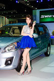 The 35th Bangkok International Motor Show 2014 Royalty Free Stock Photos