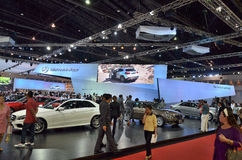 The 35th Bangkok International Motor Show Royalty Free Stock Photos