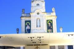 100th basilique d'aspects d'anniversaire de Madame de chapelet Fatima Image libre de droits