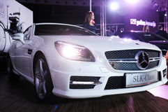 49th Belgrade internationella auto show Royaltyfri Bild