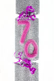 70th Birthday Cracker Royalty Free Stock Image