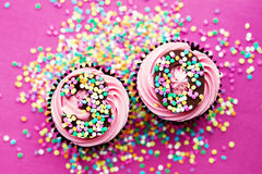 30th birthday cupcakes. Cupcakes for a 30th birthday Royalty Free Stock Photo