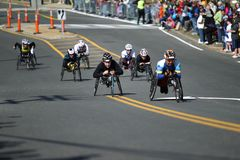 118th Boston Marathon took place in Boston, Massachusetts, on Monday, April 21 Patriots` Day 2014