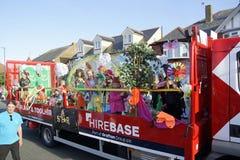 118th carnaval de Whitstable Photos libres de droits