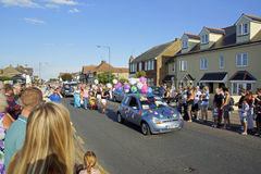 118th carnaval de Whitstable Photo stock